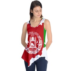 Flag Map Of Afghanistan Sleeveless Tunic