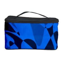 Blue pattern Cosmetic Storage Case