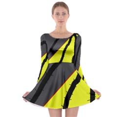 Spider Long Sleeve Skater Dress