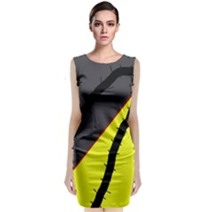 Spider Classic Sleeveless Midi Dress