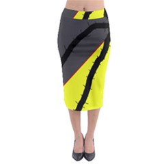 Spider Midi Pencil Skirt