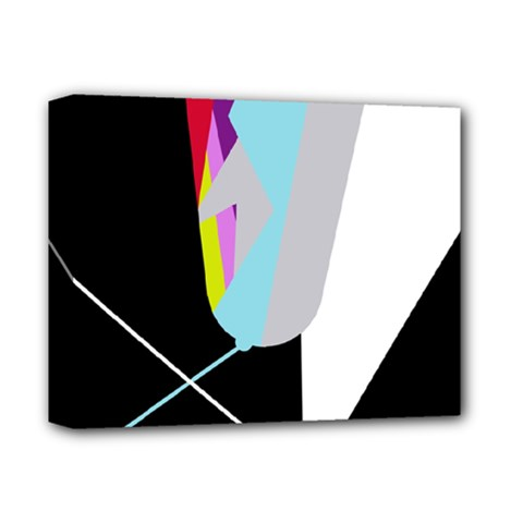 Colorful abstraction Deluxe Canvas 14  x 11