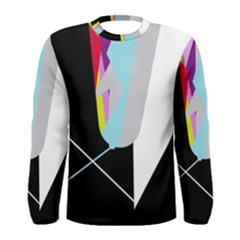 Colorful abstraction Men s Long Sleeve Tee