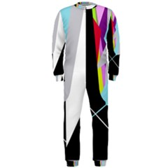 Colorful abstraction OnePiece Jumpsuit (Men)