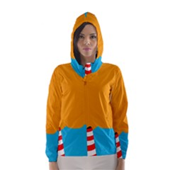 Chimney Hooded Wind Breaker (Women)