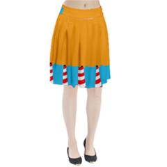 Chimney Pleated Skirt
