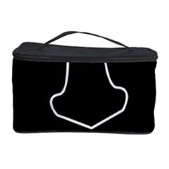 Sleeping face Cosmetic Storage Case