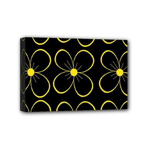 Yellow flowers Mini Canvas 6  x 4