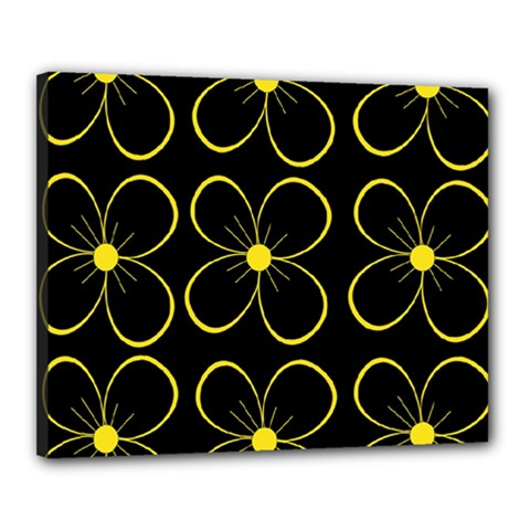 Yellow flowers Canvas 20  x 16