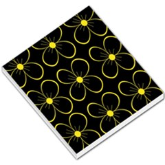 Yellow flowers Small Memo Pads