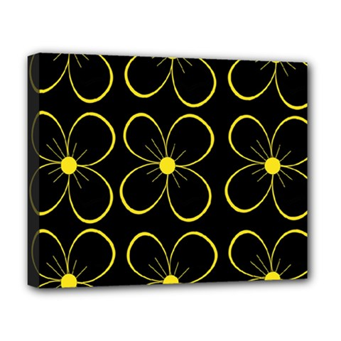 Yellow flowers Deluxe Canvas 20  x 16