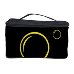 Yellow bubbles Cosmetic Storage Case