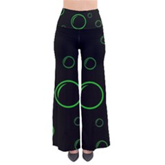 Green buubles pattern Pants