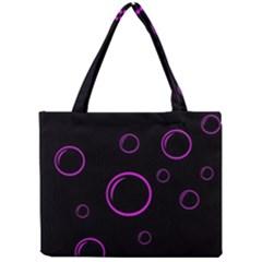 Purple bubbles  Mini Tote Bag