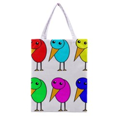 Colorful birds Classic Tote Bag