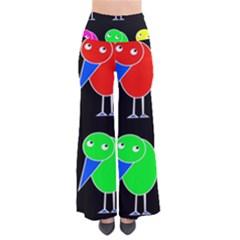 Colorful birds Pants