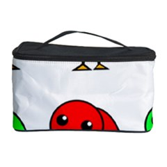 Green and red birds Cosmetic Storage Case