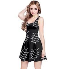 Bugs pattern Reversible Sleeveless Dress