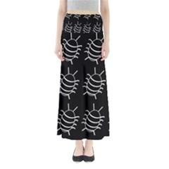 Bugs Pattern Maxi Skirts