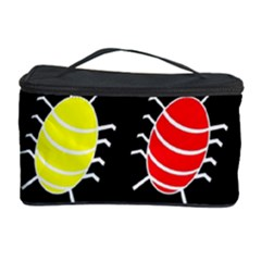 Red and yellow bugs pattern Cosmetic Storage Case
