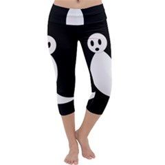 Ghost Capri Yoga Leggings