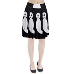 Ghost Pleated Skirt