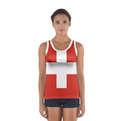 National Flag Of Switzerland Women s Sport Tank Top