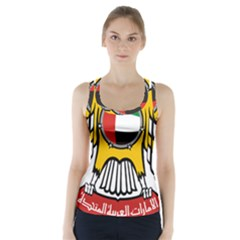 Emblem Of The United Arab Emirates Racer Back Sports Top