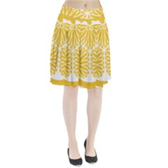 Tokugawa Family Crest Pleated Skirt