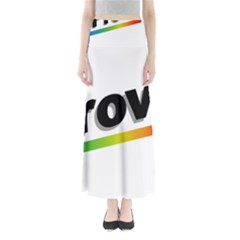 Flag Of Provo  Maxi Skirts