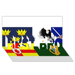 Four Provinces Flag Of Ireland BEST BRO 3D Greeting Card (8x4)