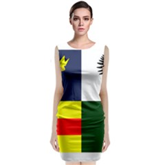 Four Provinces Flag Of Ireland Classic Sleeveless Midi Dress