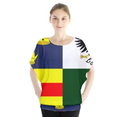 Four Provinces Flag Of Ireland Blouse
