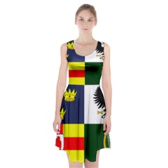 Four Provinces Flag Of Ireland Racerback Midi Dress