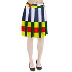 Four Provinces Flag Of Ireland Pleated Skirt