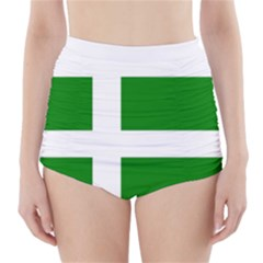 Flag Of Puerto Rican Independence Party High Waisted Bikini Bottoms