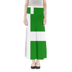Flag Of Puerto Rican Independence Party Maxi Skirts