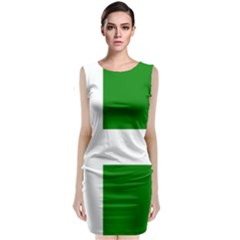 Flag Of Puerto Rican Independence Party Classic Sleeveless Midi Dress