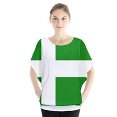 Flag Of Puerto Rican Independence Party Blouse
