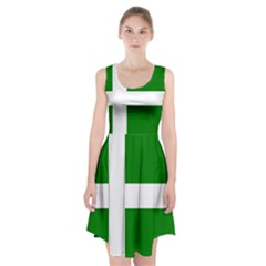 Flag Of Puerto Rican Independence Party Racerback Midi Dress