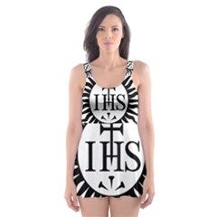 Society Of Jesus Logo (jesuits) Skater Dress Swimsuit