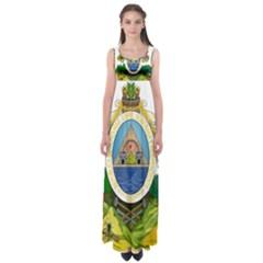 Coat Of Arms Of Honduras Empire Waist Maxi Dress