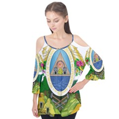 Coat Of Arms Of Honduras Flutter Tees