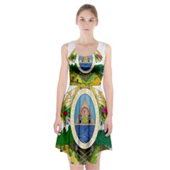 Coat Of Arms Of Honduras Racerback Midi Dress