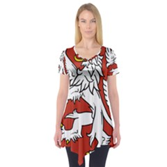 Bohemia Coat Of Arms  Short Sleeve Tunic