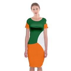 Irish Air Corps Roundel Classic Short Sleeve Midi Dress
