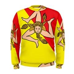 Coat Of Arms Of Sicily Men s Sweatshirt