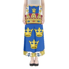 Lesser Coat Of Arms Of Sweden Maxi Skirts
