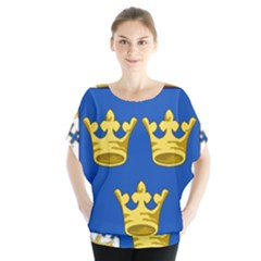 Lesser Coat Of Arms Of Sweden Blouse