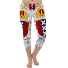 Amsterdam Coat Of Arms  Capri Yoga Leggings